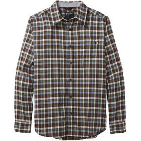 Marmot Fairfax Midweight Flannel LS Shirt Men brown